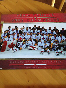 2002 Canadian Men's Olympic Team picture