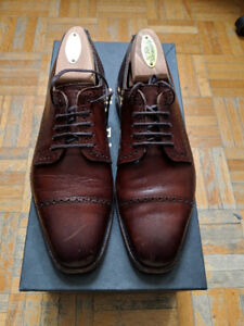 Allen Edmonds Chili Yorktown Cap-Toe Oxfords 6.5E