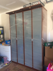 Large wardrobes for a small price