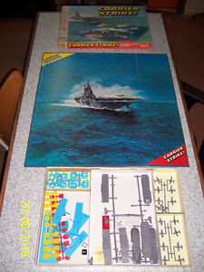 Vintage board game - Carrier Strike