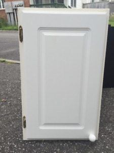White Inset Bathroom Wall Cabinet