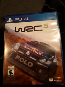 WRC5 game for PS4