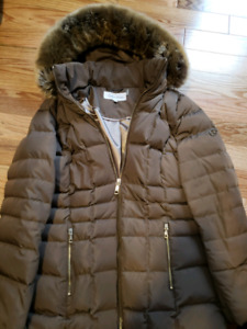Womens Calvin Klein Down Filled Jacket