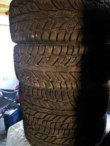 215/45R17 winter tires like new
