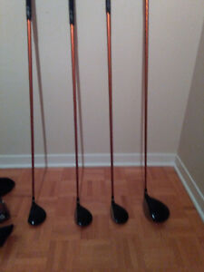 Left Handed Ping G10 Driver, 3 wood, 5 wood, 7 wood