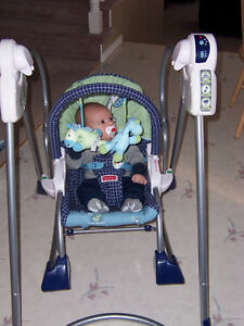 Fisher Price Smart Stages 3-in-1 Rocker Swing