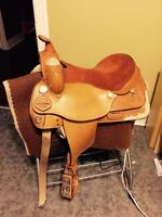 """16"""" Show Saddle Package"""