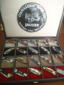 Collectibles Hand made miniature knives set
