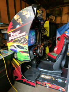 Fast and the Furious Racing Arcade Game