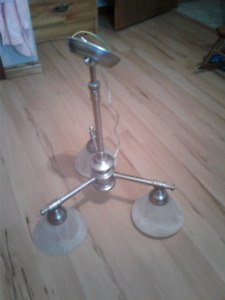 Brushed Pewter Light