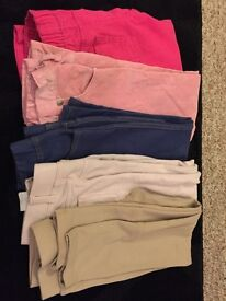 Girls jeans and jegggings (5pairs)