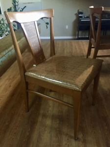 Mid century dining chairs - set of 4