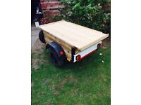 Car Camping 3x4 Trailer Fully Rebuilt Mini Wheels Locking Lid ideal Bootsales ect