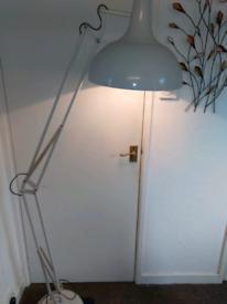 Floor standing Angle poise lamp