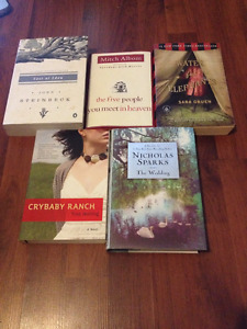 Lot of good fiction reads for sale