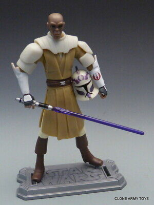 STAR WARS Mace Windu RISE OF BOBA FETT ULTIMATE BATTLE PACK CLONE WARS TCW LOOSE