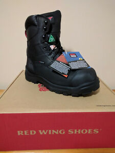 Red Wing Green patch workboots