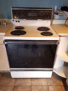 Admiral stove - works good.  Free if you pick up