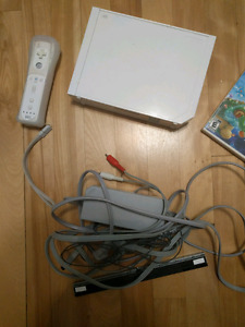 Wii with 2 games