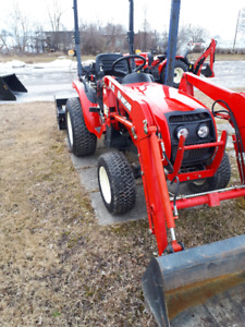 Compact Tractor & loader