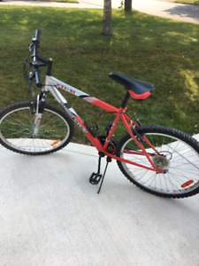 Youth Mountain Bike - with front shocks