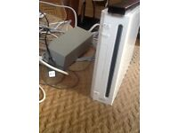 Nintendo Wii system with motion censor