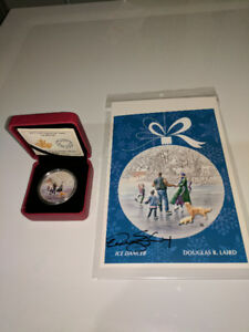 Ice Dancer $20 Coin with Signed Card from Designer