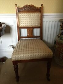 Yew dining chair
