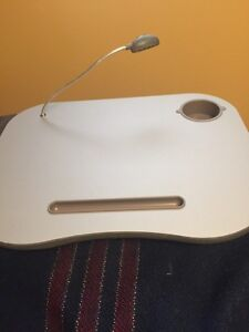 Computer stand for bed