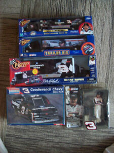 Dale Earnhardt figure & Skinner Craftsman truck model