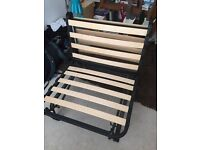 Single fouton chair bed