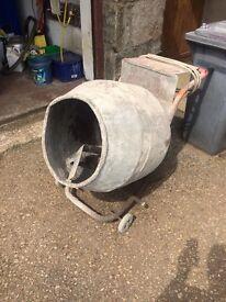 Cement mixer 240v