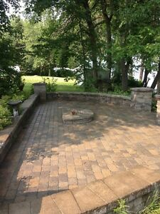 Sable polymere Scellant pave uni/ polymeric sand paver sealing West Island Greater Montréal image 1