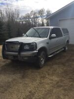 2002 F150 S/C 4x4, Low km for parts / Salvage