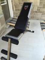 Workout Bench (plus other equipment)