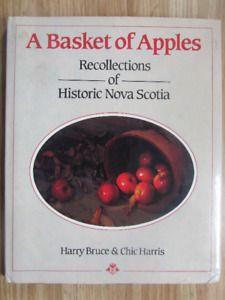 A BASKET OF APPLES by Harry Bruce & Chic Harris 1982