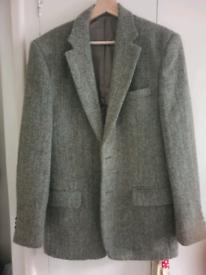 Harris tweed blazer 38