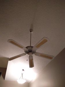Ceiling fan white
