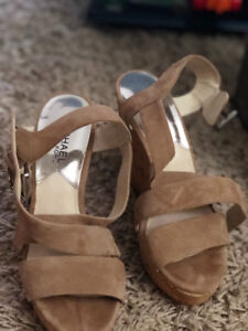 Michael Kors women wedge shoes in size 6