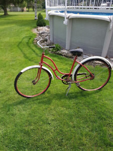 Antique Womens Bicycle Sunshine
