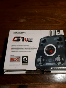 Zoom G1usb multieffects pedal