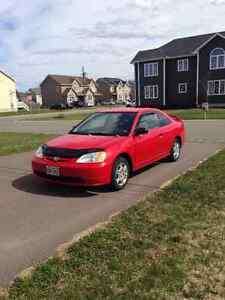 2001 Honda Civic Coupe (*With car starter*)