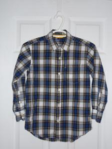Gap boys plaid shirt medium (8)