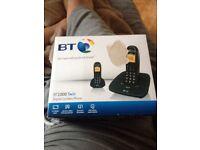 Bt1000 twin house phone