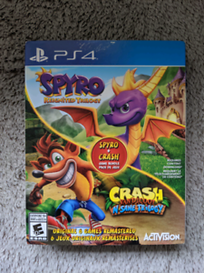 Spyro + Crash Bundle PS4 (Spyro still sealed)