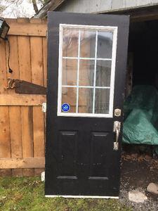 """32"""" Exterior Door Slab with Lock Set"""