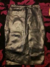 Ladies black boohoo skirt size 12