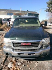 2007 GMC Sierra Classic 2500HD For Parts Sale