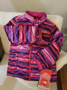 THE NORTH FACE youth girls jacket xs/tp age 6