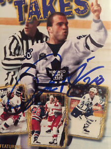 AUTHOGRAPHED TIE DOMI WHAT IT TAKES VHS TAPE Cambridge Kitchener Area image 2